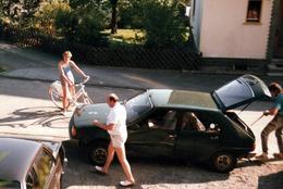 Photo Originale Renault 14 (1976 - 1983) - Une Renault 14 TS, Modèle 1980 En 1986 - Automobiles