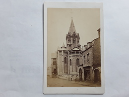 GRANDE GROTE ORGINELE FOTO 17 CM OP 11 CM LUIK LIEGE 1880  EGLISE ST CROIX - Ancianas (antes De 1900)