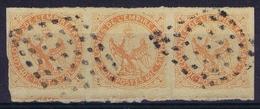 Colonies Gen. Yv 5 Bande De 3  Obl./Gestempelt/used - Aigle Impérial