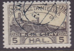 POLAND 1919 Checiny 5 HAL Used Perf - Non Classés