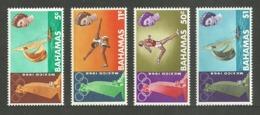 BAHAMAS 1968 SPORT OLYMPICS MEXICO ATHLETICS SAILING YACHTS SET MNH - Bahamas (1973-...)