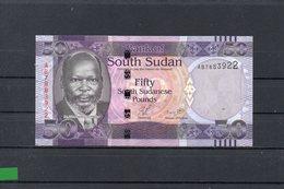 SUDAN DEL SUR 2011, 50 POUNDS, P-9a, SC-UNC, 2 ESCANER - Südsudan
