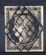 FRANCE - 1849 - YT N° 3a - Cote: 70,00 € - 1849-1850 Ceres
