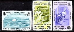 Tristan Da Cunha 1986 Shipwrecks II Set Of 3, MNH, SG 411/3 - Tristan Da Cunha