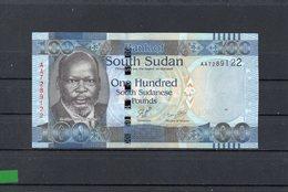 SUDAN DEL SUR 2011,100 POUNDS, P-10a, SC-UNC, 2 ESCANER - Sudán Del Sur