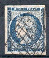 FRANCE - 1849 - YT N° 4 - Cote: 65,00 € - 1849-1850 Ceres