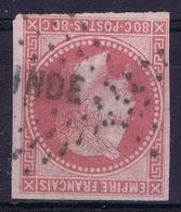 Colonies Gen. Yv 10   Losagne INDE Obl./Gestempelt/used - Napoléon III
