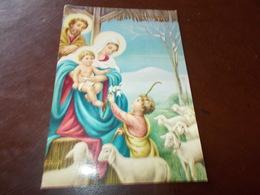 B623  Buon Natale Viaggiata Pieghina Angolo - Non Classificati