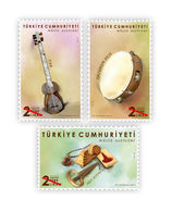 TURKEY/2019 - MUSICAL INSTRUMENTS, MNH - Nuevos