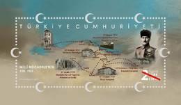 TURKEY/2019 - 100th YEAR OF NATIONAL STRUGGLE (ATATURK, WWI), MNH - Nuevos