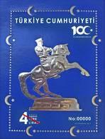 TURKEY/2019 - (NUMBERED BLOCK) 100th YEAR OF NATIONAL STRUGGLE (ATATURK, WWI), MNH - Nuevos