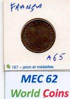 MEC 62 - FRANÇA JETON COMPAGANIE LE TAXIPHONE - Frankreich