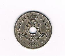 // LEOPOLD II  5 CENTIEM  1906 VL - 1865-1909: Leopold II