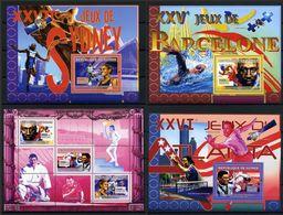 GUINEA 2007 G223 Olympic Games 1992 Barcelona, Spain 1996 Atlanta, USA 2000 Sydney, Australia - Verano 1992: Barcelona
