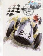 Belgique  -  Mercedes-Benz W154 Grand Prix 1939  - Artiste:Benoit Deliege  -   Carte Maximum (Premiere Jour) - Automobile