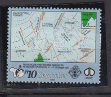 SEYCHELLES     1990                 N /  730      COTE   7 , 20    EUROS     ( W 106 ) - Seychelles (1976-...)