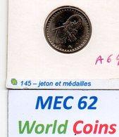 MEC 62 - FRANÇA JETON DE LAVAGE AUTOMOVIL BLEU RESEAU ELEPHANT - Frankreich