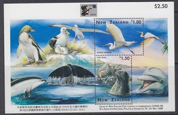 "New Zealand 1996 Marine Life M/s ""China"" ** Mnh (43958) - Blokken & Velletjes"