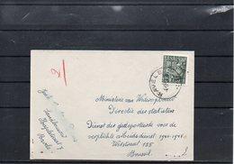 BELGIUM - EXPORTATION LETTRE 1950 - RAVELS   - UN2 - 1948 Export