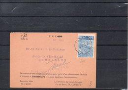 BELGIUM - EXPORTATION RECU  - LIEGE 1949   - UN2 - 1948 Export