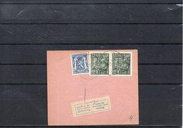 BELGIUM - EXPORTATION RECU  - MONS 1949   - UN2 - 1948 Export