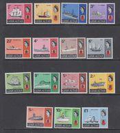 Gibraltar 1967 + 1969 Definitives / Ships 15v ** Mnh (43960) - Gibraltar