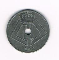 //  LEOPOLD  III  5 CENTIEM  1942 VL/FR - 1934-1945: Leopold III