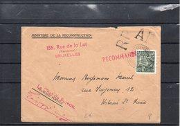 BELGIUM - EXPORTATION - RP+AR BRUXELLES -WOLUWE  - UN2 - 1948 Export