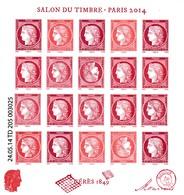 Salon Du Timbre 2014 - Blocs & Feuillets