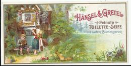 Etiket - étiquette - Label - Seife HÄNSEL & GRETEL Feinste Toilette Seife - Savon - Parfumerie - Parfum - Etiquettes