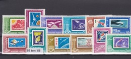 HUNGARY  1963 SPACE (Stamp One Stamp;Dog) 12 V-MNH - Hungary