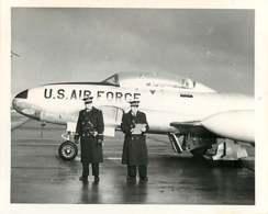 020819A - PHOTO AVIATION GENDARMERIE - Gendarmerie De L'Air TOUL ROSIERES Police Navigation Aérienne Avion US AIR FORCE - Aviation