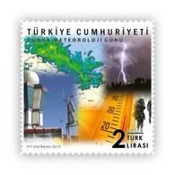 TURKEY/2019 - WORLD METEOROLOGY DAY, MNH - Nuevos