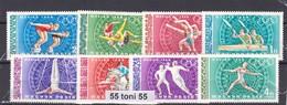 Hungary 1968 Sport Olimpic Games- Mexico  Michel: 2434/41A 8v.-MNH - Verano 1968: México