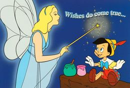 1 AK Walt Disney Classics * Wishes Do Come True... Pinocchio * - Sonstige