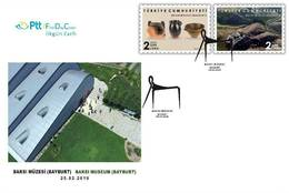 TURKEY/2019 - (FDC) PRINTING MUSEUM (BAYBURT), MNH - 1921-... Republik