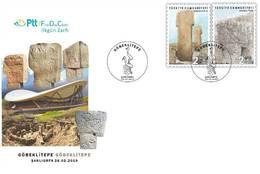 TURKEY/2019 - (FDC) ARCHAEOLOGICAL SITE (GOBEKLITEPE), MNH - 1921-... Republik