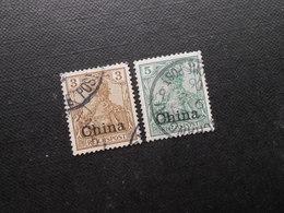 D.R.15a/16  3/5Pf - Deutsche Kolonien (China) 1901 - Mi 4,50 € - Offices: China