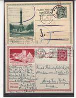 Belgique  Lot De 2     E Postal  Albert   1 ER - Belgium