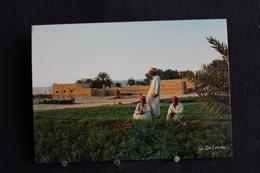 I - 27 / Asie - Arabie Saoudite, Riyadh - Fermers Near The City -  تحية من المملكة العربية السعودية  / Circule - Arabie Saoudite