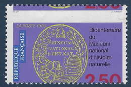 France N°2810 B Maury (2812 Yvert)  Piquage à Cheval RR Signé Calves - Errors & Oddities