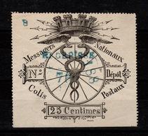 Colis Postaux De Paris - Dallay 1 Messagers Nationaux - Colis Postaux