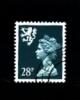 GREAT BRITAIN - 1992  SCOTLAND  28p. PCP  PERF.  13 1/2x14  FINE USED  SG S75a - Regionali