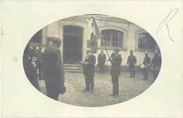 Cpa 77 – Guignes-Rabutin – Carte-photo Cérémonie Remise De Drapeau - Frankrijk