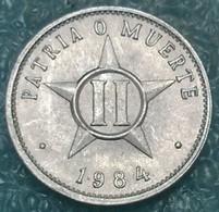 Cuba 2 Centavos, 1984 -4442 - Cuba
