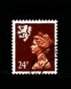 GREAT BRITAIN - 1992  SCOTLAND  24p. PCP  PERF.  13 1/2x14  FINE USED  SG S70a - Regionali