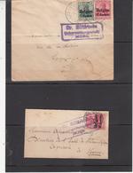 Belgique   2 Envlp      Guerre 1914/18 - Oorlog 14-18