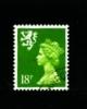 GREAT BRITAIN - 1991  SCOTLAND  18p. CB  FINE USED  SG S60 - Regionali