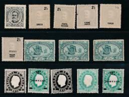 PORTUGUESE COLONIES, 1880s Selection Fine Mint #2, Cat About €35 - Kolonies - Zonder Classificatie