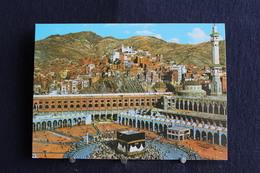 I - 32 / Asie - Saudi Arabia - ( Mekka ) The Holly City Of Mecca - The Kaaba  - تحية من المملكة العربية السعودية - Arabie Saoudite